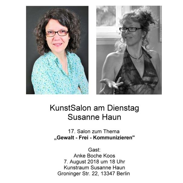 Einladung Kunstsalon Anke